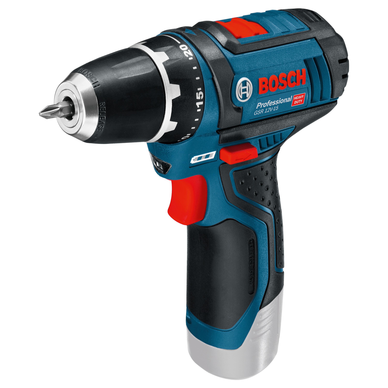 Bosch Professional accu schroefmachine GSR 12V-15 (zonder accu)