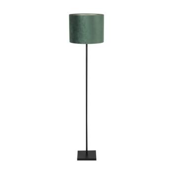 Vloerlamp Oliver groen velours