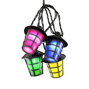 Feestverlichting 20 LED lampen multicolor