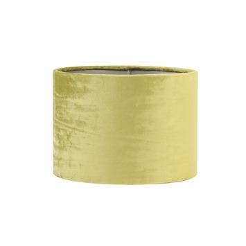 Lampenkap velours oker geel Ø20x15 cm