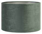 Lampenkap velours groen Ø35x23cm