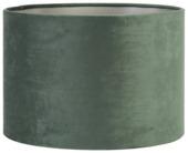 Lampenkap cilinder 40-40-25 cm VELOURS donker groen