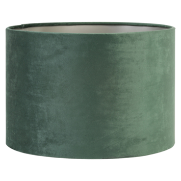 Lampenkap cilinder 30-30-12 cm VELOURS donker groen
