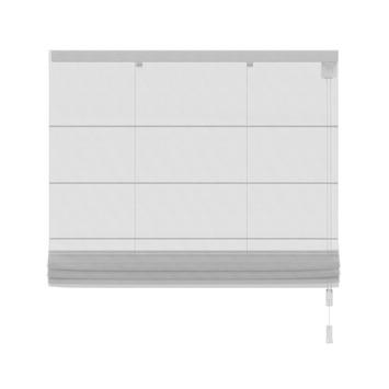 KARWEI vouwgordijn transparant wit (2017) 140x180 cm