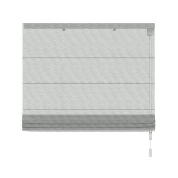 KARWEI vouwgordijn transparant grijs gemêleerd (2018) 60x180 cm