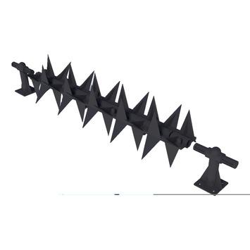 SecuMax Anti-Klimstrip Pro Roller Zwart 50 cm