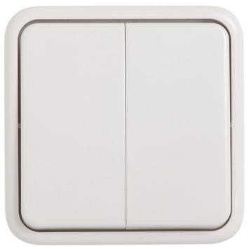 KARWEI Opbouw serieschakelaar wit