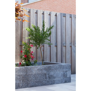 Stapelblok Beton Basalt Antraciet 60x15x12 cm - Per Stuk