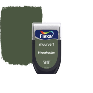 Flexa Creations muurverf Kleurtester Forest Song mat 30ml