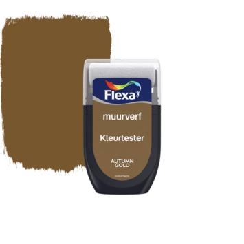 Flexa Creations muurverf Kleurtester Autumn Gold mat 30ml