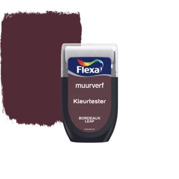 Flexa Creations muurverf Kleurtester Bordeaux Leaf mat 30ml