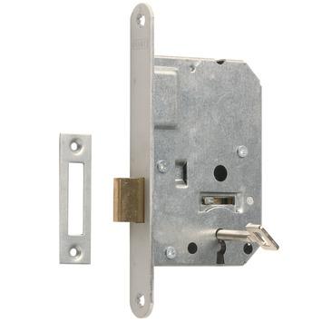 NEMEF 1200 serie kastdeurslot met gelakte voorplaat Doorn 50mm PC 55mm