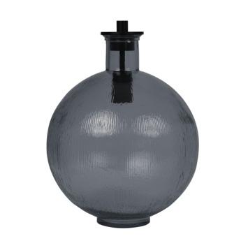 Tafellamp SOREN  Ø34x44 cm glas blauw-zwart