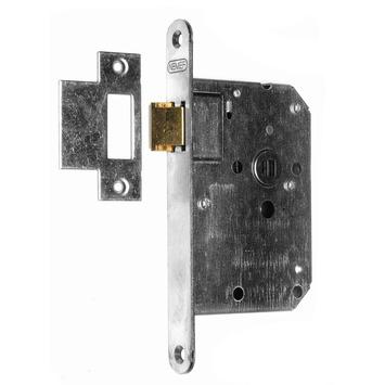 NEMEF loopslot binnendeur 50 mm met rvs voorplaat