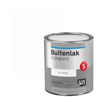 Karwei buitenlak zijdeglans 750 ml wit