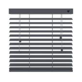 vtwonen horizontale houten jaloezie basalt (955) 100 x 180 cm - 50 mm