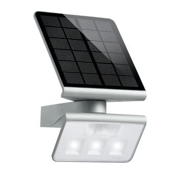 Steinel Sensorlamp XSolar L-S, zilver, LED
