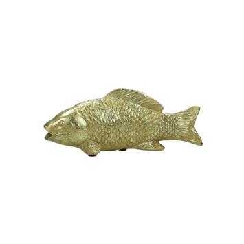 Ornament vis goud