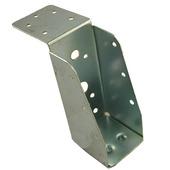Balkdrager lange lip verzinkt 46x21 mm