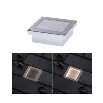 Paulmann solar vloerinbouwlamp 0,7W 10x10 cm IP67