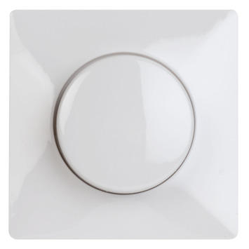 KARWEI Solis centraalplaat dimmer wit