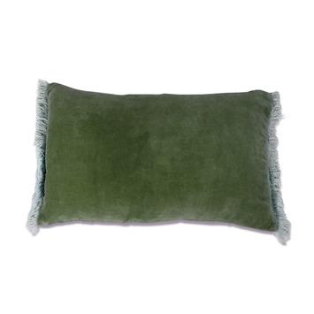 Kussen Phoeby 35x55 groen