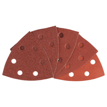 Bosch Delta schuurvel red wood 93 mm 10 stuks