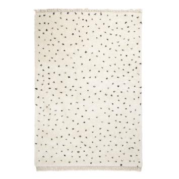 Varamin Vloerkleed Zwart/Wit stip 35 mm 200x290 cm