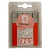 Novus nieten vlakdraad D53F 6 mm 1200 stuks