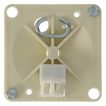 Centraaldoosdeksel HAF 3506 Vierkant