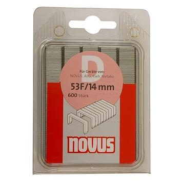 Novus nieten vlakdraad D53F 14 mm 600 stuks