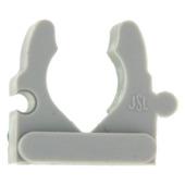 Klembeugel PVC 5/8 Grijs Slagvast 20 Stuks