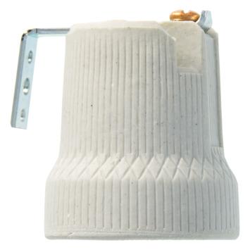 HANDSON lamphouder haaks porcelein E27 wit