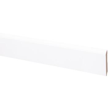 CanDo muurplint kwart rond wit  968 vlak 240 cm