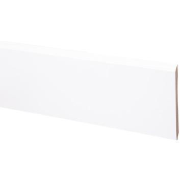 CanDo muurplint kwart rond wit gegrond 9120 vlak 240 cm