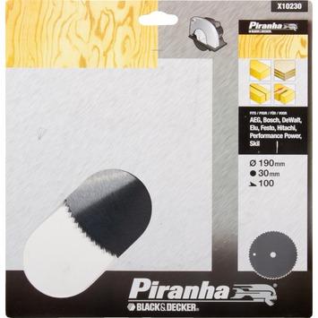 Piranha cirkelzaagblad X10230 CV 190x30 mm 100 tanden