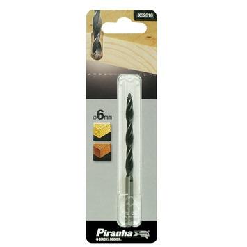 Piranha houtspiraalboor X52016 6 mm