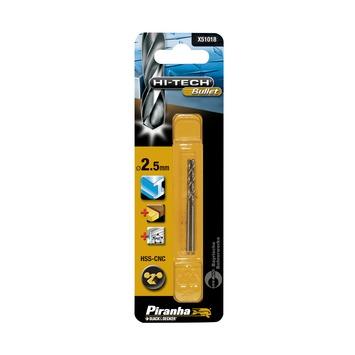 Piranha HI-TECH Bullet metaalboor X51018 HSS-CNC 2,5 mm (2 stuks)