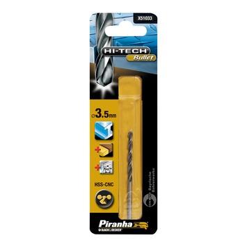 Piranha HI-TECH Bullet metaalboor X51033 HSS-CNS 3,5 mm