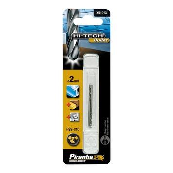 Piranha HI-TECH Bullet metaalboor X51013 HSS-CNC 2 mm (2 stuks)
