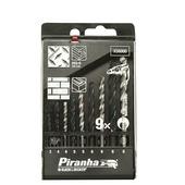 Piranha borenset X56000 (9-delig) voor metaal en steen