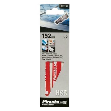 Piranha reciprozaagblad X22132 HSS 152 mm (2 stuks) voor metaal
