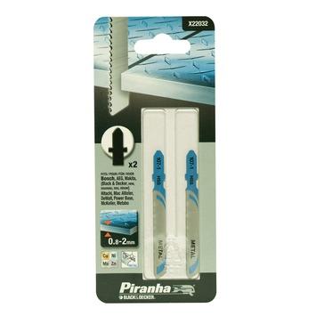 Piranha decoupeerzaagblad X22032 T-schacht (2 stuks) voor metaal