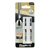 Piranha decoupeerzaagblad X21132 voor oude Bosch schacht (2 stuks) voor hout