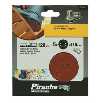 Piranha schuurschijf X32012 K120 115 mm (5 stuks)