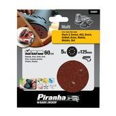 Piranha schuurschijf X32027 K60 125 mm (5 stuks)