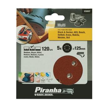Piranha schuurschijf X32037 K120 125 mm (5 stuks)