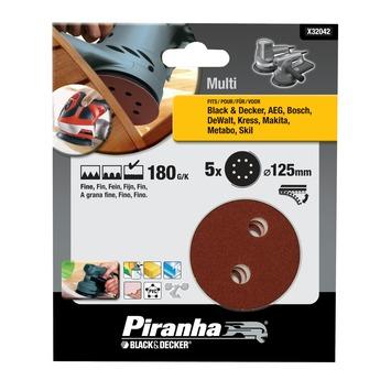 Piranha schuurschijf X32042 K180 125 mm (5 stuks)