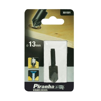 Piranha verzinkboor X61501 13 mm zeskantaansluiting