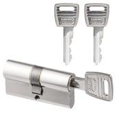 NEMEF veiligheidscilinder 30/30 mm SKG 2-sterren